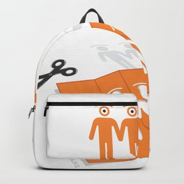 chain of glances Backpack