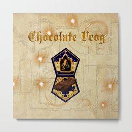 Chocolate Frog Metal Print