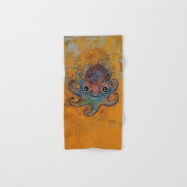 Baby Octopus Hand & Bath Towel