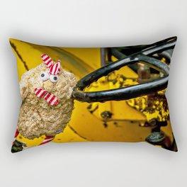 Chicken Truck Driver Rectangular Pillow
