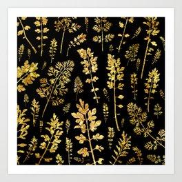 parsley of gold Art Print
