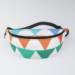 Triangles of Color Fanny Pack