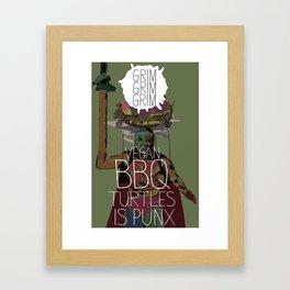 Shit Punx Framed Art Print