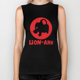 Lion-ahh Biker Tank