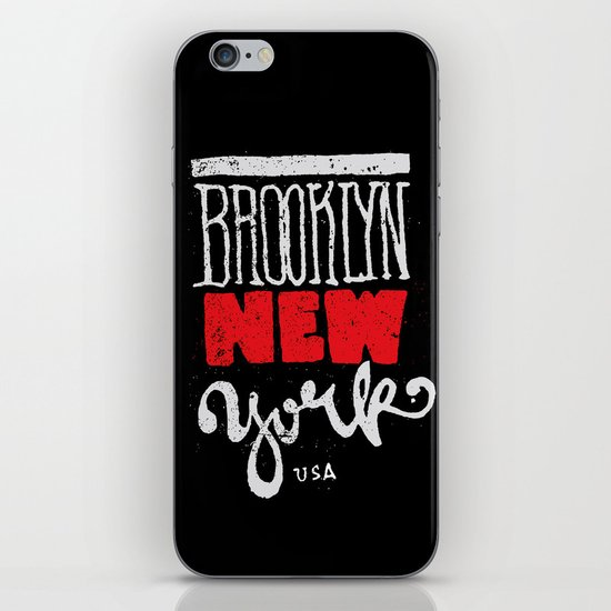 Brooklyn New York iPhone & iPod Skin