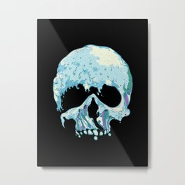 Silent Wave Metal Print