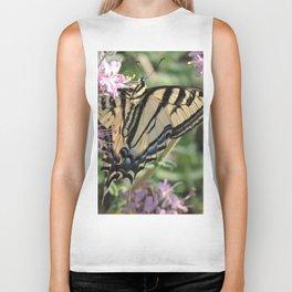 Western Tiger Swallowtail on Lemon Blossoms Biker Tank