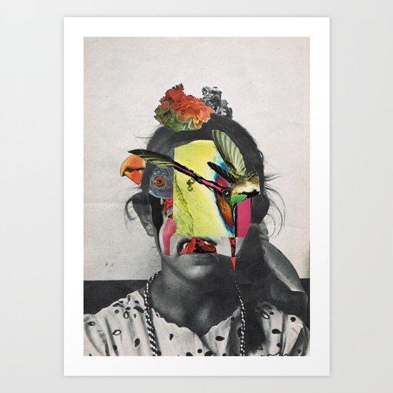 WOMAN 10/30 (2015) Art Print