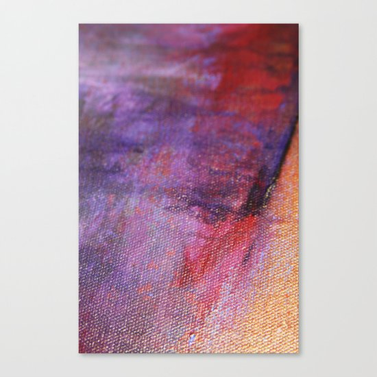 Red Vastness Canvas Print
