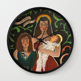 The Truth For Now Wall Clock