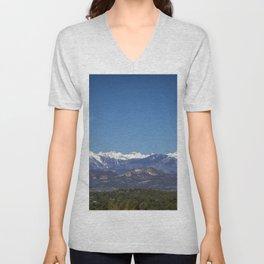 La Plata Mountains, Colorado Unisex V-Neck