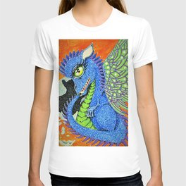 baby sparkle dragon T-shirt