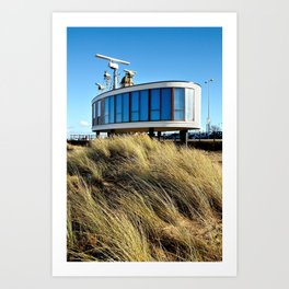 Fleetwood Radar Station Art Print