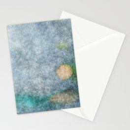 stained fantasy microorganisms Stationery Cards