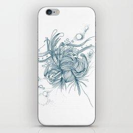 Déracinée iPhone Skin