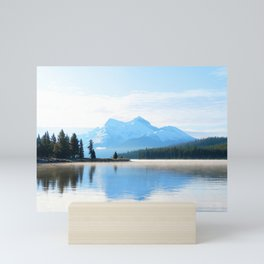 341. Early morning on Maligne Lake, Japser, Canada Mini Art Print