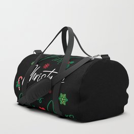 First Christmas As Mr. & Mrs. Duffle Bag
