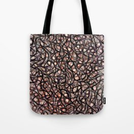 The Web Of Theatrical Neurons Tote Bag