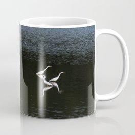 Egrets At Night Coffee Mug
