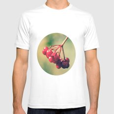 Berry Berry Me  Mens Fitted Tee White SMALL