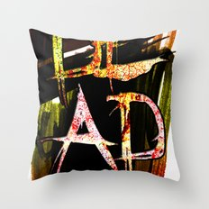 D.E.A.D  Throw Pillow