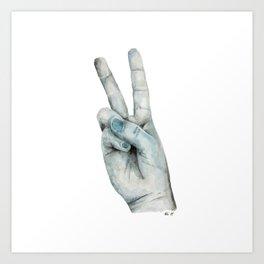 Hand No.4 Art Print