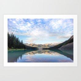 Lake Louise Reflection Art Print
