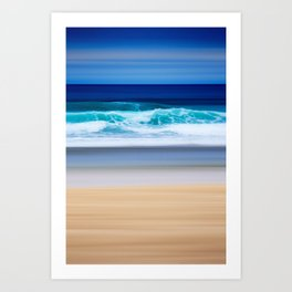 the colors of the Atlantic Ocean Art Print