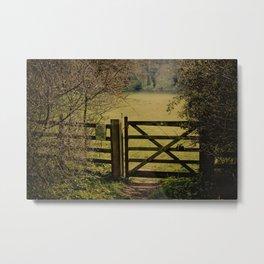 Gate To Bunkers 2 Metal Print