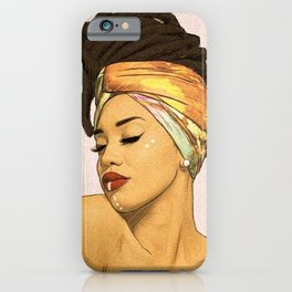 WOMEN--HAIR iPhone Case