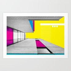 Architectuart #6 Art Print