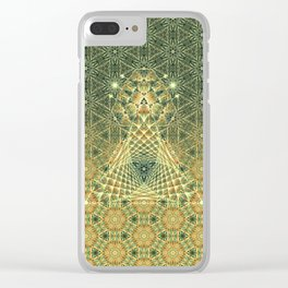 Lifeforms | Ancient geometry Clear iPhone Case
