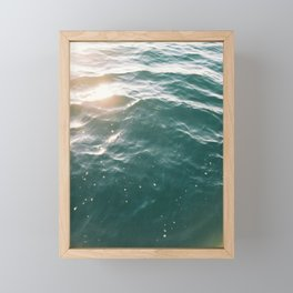 On the Water Framed Mini Art Print