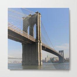 BK Bridge Metal Print