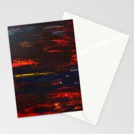 Dark Moonrise Stationery Cards