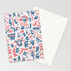 Merry Monsters Stationery Cards