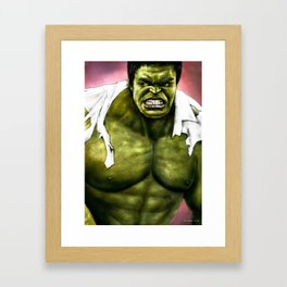 Dr.Incredible Framed Art Print