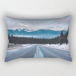 Icefields Parkway, AB II Rectangular Pillow