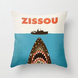 Zissou The Life Aquatic Throw Pillow