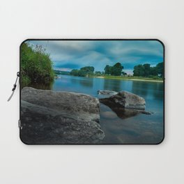 River Landscape Photography - The Banks of the Tay, Scotland Laptop Sleeve