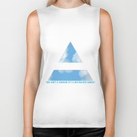 30 seconds to mars Biker Tanks featuring MARS ARMY by ScarTissue