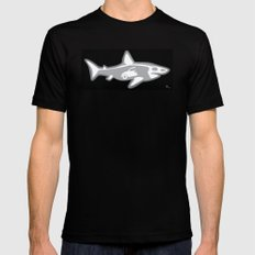 Shark X-Ray Mens Fitted Tee Black LARGE