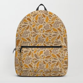 Oak & Squirrels | Autumn Yellows Palette Backpack