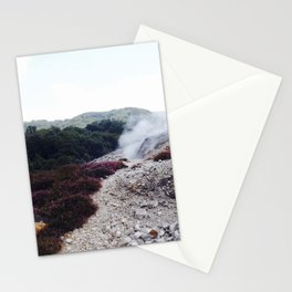 Fumaroles Stationery Cards