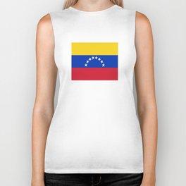flag of venezuela Biker Tank