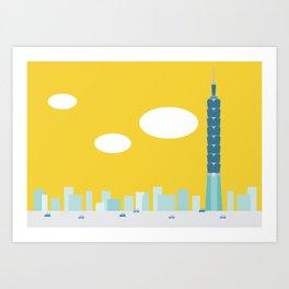 Taiwan Icon - II Art Print