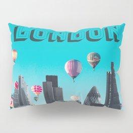 London England United Kingdom Skyline Downtown Pillow Sham