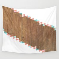 wooden Wall Tapestries featuring WooDEn ART by ''CVogiatzi.