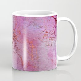 Modern abstract gold pink lilac watercolor marble Coffee Mug