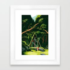 The Hideout – Day Version Framed Art Print